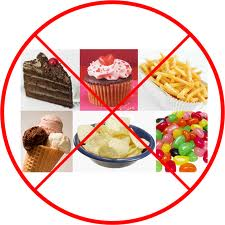 Don't eat sweets