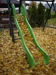 leaves slide