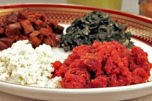 raw meat dish