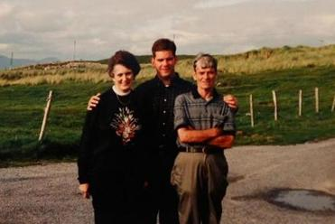 walsh and parents
