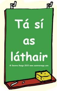 as lathair