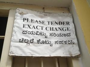 tender change