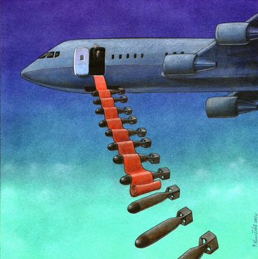 red carpet bombs