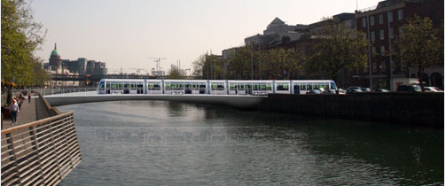 rosie H bridge luas