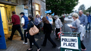 Al Jaz Scotland enter polls