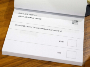 Ballot paper scotland