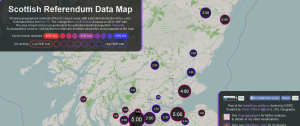 Data map Scotland