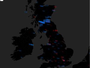 Twitter trend Scotland