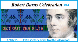 Robbie Burns night