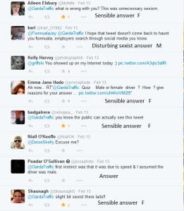 Sexist comments Garda tweet 10