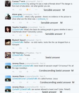 Sexist comments Garda tweet 12