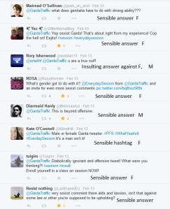 Sexist comments Garda tweet 15