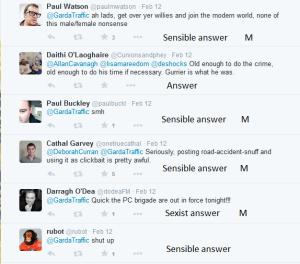Sexist comments Garda tweet 6