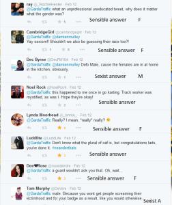 Sexist comments Garda tweet 7