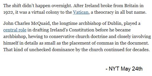 Theocracy NYT