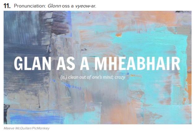 Glan as a mheabhair