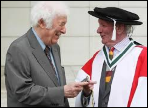 Heaney with friel