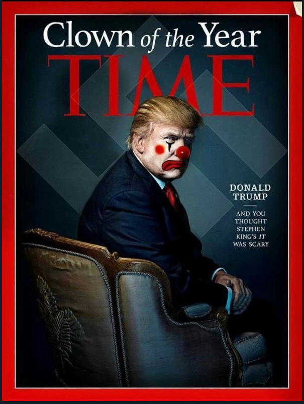 time clown