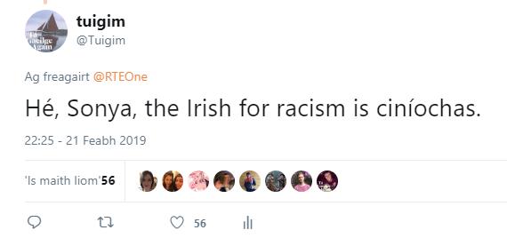 Sonya racism