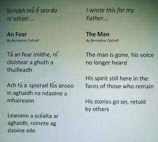 Bernadine's poem