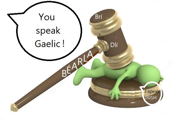 Gaelic v Irish