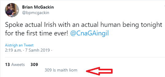 First Irish